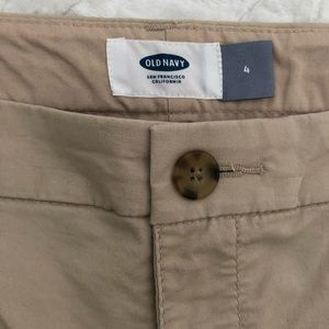 Old Navy Shorts - Old Navy Women's Khaki Shorts, sz. 4, $10 NWOT